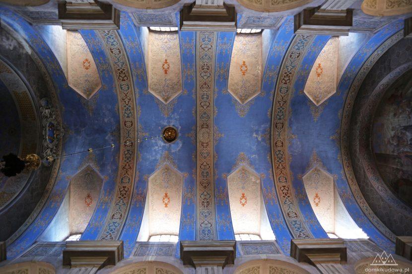 Sklepienie kościoła św. Piotra i Pawła w Broumovie