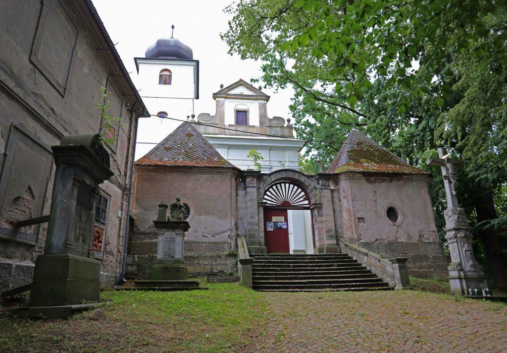 Kościół św. Jerzego i Marcina w Martínkovicach